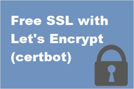 Make your website secure with Let's Encrypt (Certbot) free SSL. post thumbnail image